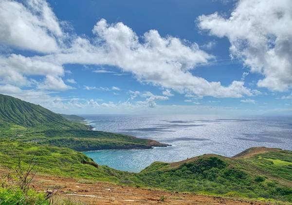 Wall Art - Photograph - Beautiful Coast Of Oahu by Jan Hicks