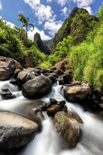 Photograph - Beautiful Day At Iao Valley by Pierre Leclerc Photography