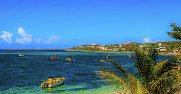 Photograph - Beautiful Day At Island Harbour by Ola Allen