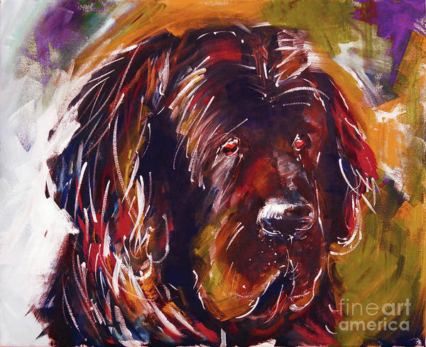 Riviere Painting - Beautiful Dog Painting  by Gull G