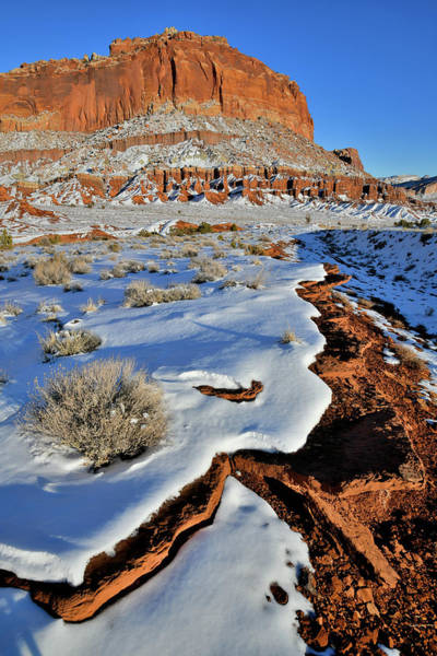 Photograph - Beautiful Drifts In Capitol Reef Np by Ray Mathis