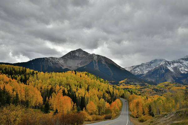 Photograph - Beautiful Fall Colors Along Highway 145 In Colorado by Ray Mathis