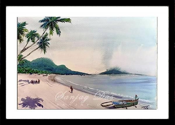 Beautiful Goa Beach Art Print