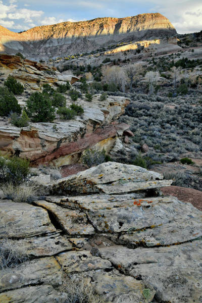 Photograph - Beautiful Hills On East Side Of Colorado National Monument by Ray Mathis