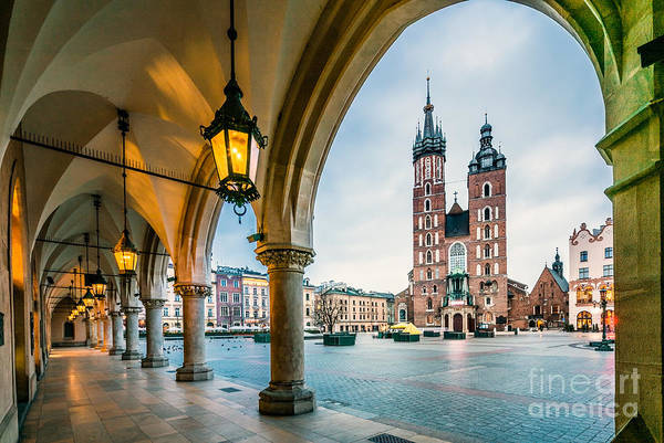 Wall Art - Photograph - Beautiful Krakow Market Square, Poland by Sopotnicki