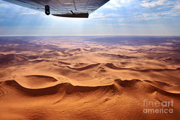 Unesco Wall Art - Photograph - Beautiful Landscape Of The Namib Desert by Oleg Znamenskiy