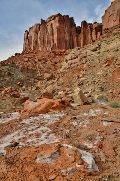 Photograph - Beautiful Mineral Bottom In Canyonlands by Ray Mathis