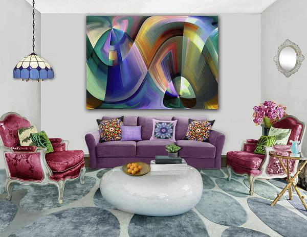 Wall Art - Digital Art - Beautiful Moments -artwork In Situ by Grace Iradian