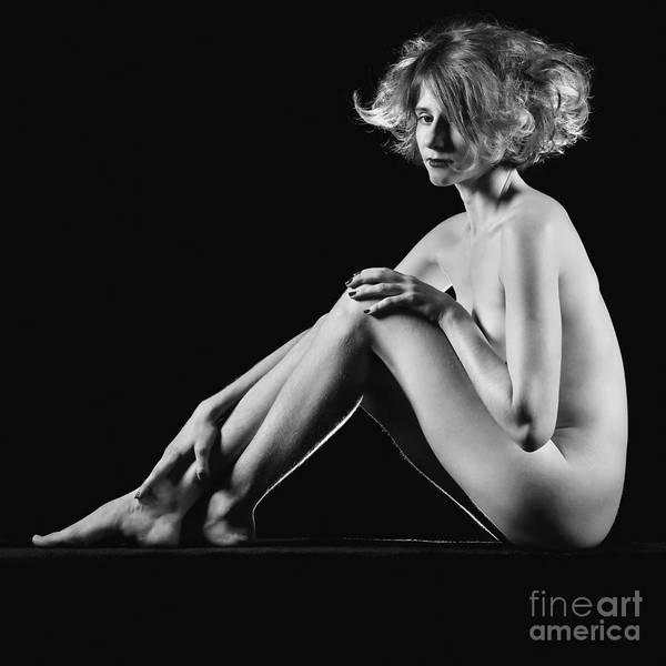 Beautiful Nude Woman Fineart Style Art Print