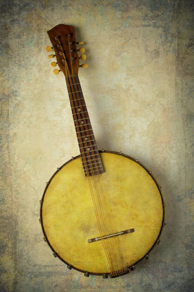 Wall Art - Photograph - Beautiful Old Banjo by Garry Gay