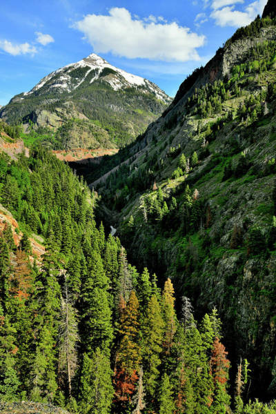 Photograph - Beautiful Ouray Canyon And Highway 550 by Ray Mathis