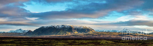 Wall Art - Photograph - Beautiful Panoramic Of The Icelandic Mountains by Jamie Pham