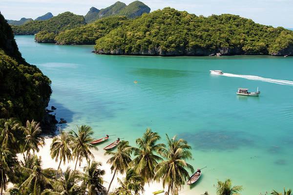Wall Art - Photograph - Beautiful Paradise Beach On Angthong by Fototrav