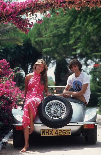 Marbella Photograph - Beautiful People by Slim Aarons