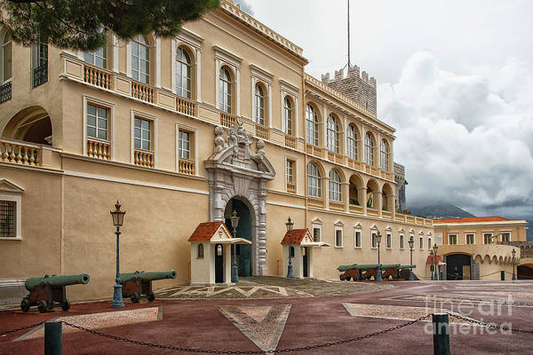 Wall Art - Photograph - Beautiful Princes Palace Of Monaco by Wayne Moran