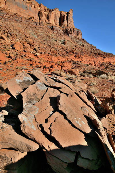Photograph - Beautiful Rock Forms Along Highway 313 In Utah by Ray Mathis