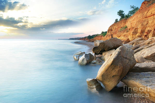 Wall Art - Photograph - Beautiful Sea Landscape. Composition Of by Djgis