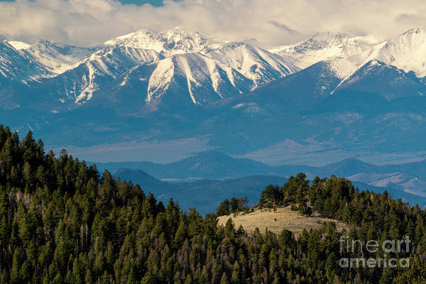 Photograph - Beautiful Snow Capped Sangre De Cristo Range by Steve Krull
