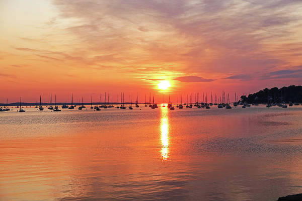 Photograph - Beautiful Sunrise From Derby Wharf Salem Ma by Toby McGuire