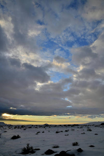 Photograph - Beautiful Sunset Clouds Over Grand Junction by Ray Mathis