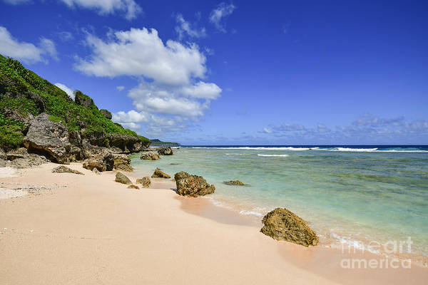 Photograph - Beautiful Tagachang Beach  by Steven Liveoak