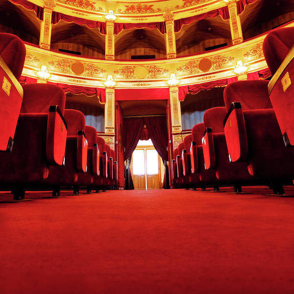Auditorium Photograph - Beautiful Theatre by Nikada