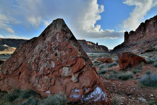 Photograph - Beautiful Utah 313 Corridor by Ray Mathis