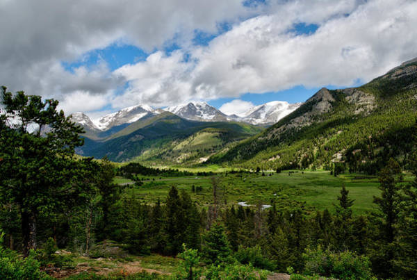 Photograph - Beautiful Valley In The Rockies by Dan Friend