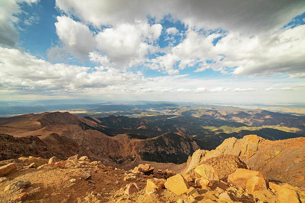Photograph - Beautiful View From Pike's Peak Colorado Springs Colorado by Toby McGuire