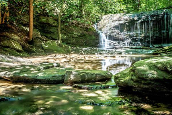 Photograph - Beautiful Watrefalls In Upstate South Carolina by Alex Grichenko