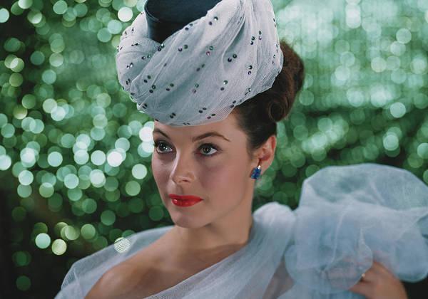 Photograph - Beautiful Woman Wearing Headdress by Tom Kelley Archive