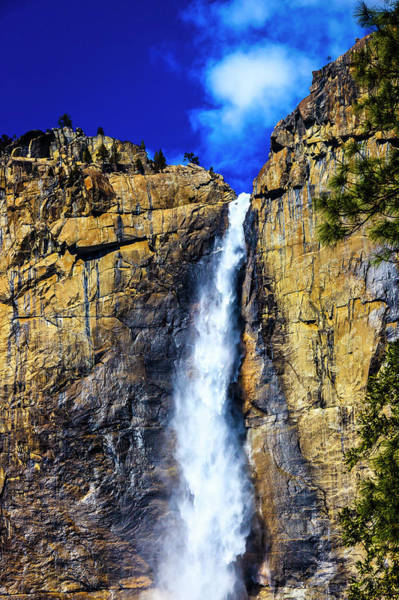 Wall Art - Photograph - Beautiful Yosemite Upper Falls by Garry Gay