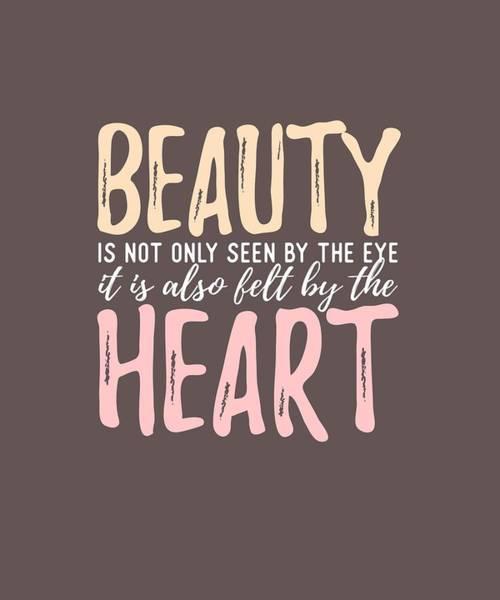 Digital Art - Beauty Heart by Shopzify