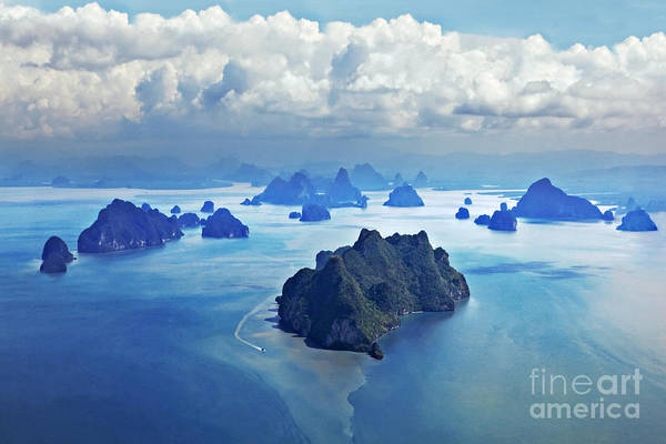 Philippines Photograph - Beauty Islands Like On Mars, Aerial by Saiko3p