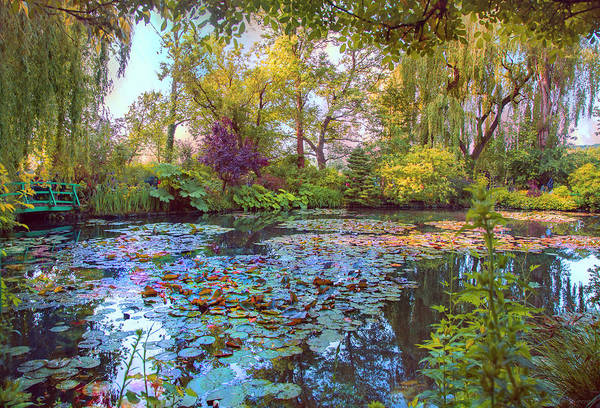 Photograph - Beauty Of Giverny by John Rivera