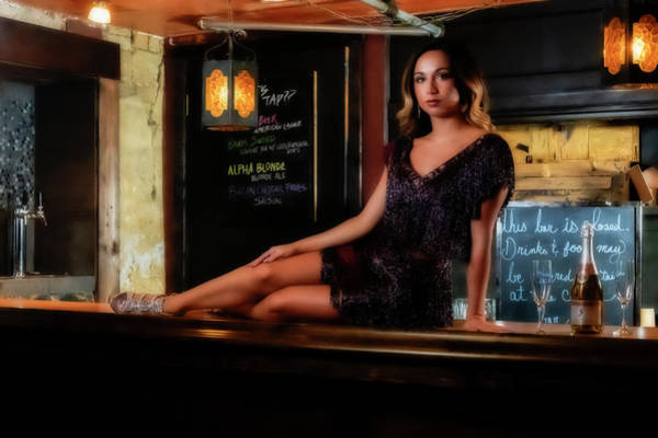 Photograph - Beauty On The Bar by Dan Friend