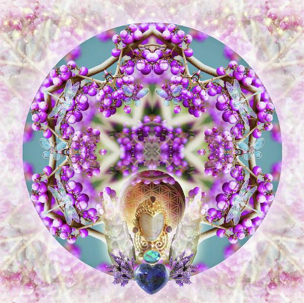 Digital Art - Callicarpa by Alicia Kent