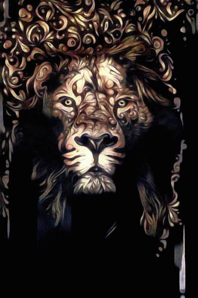 Mixed Media - Beauty's Beast by Susan Maxwell Schmidt