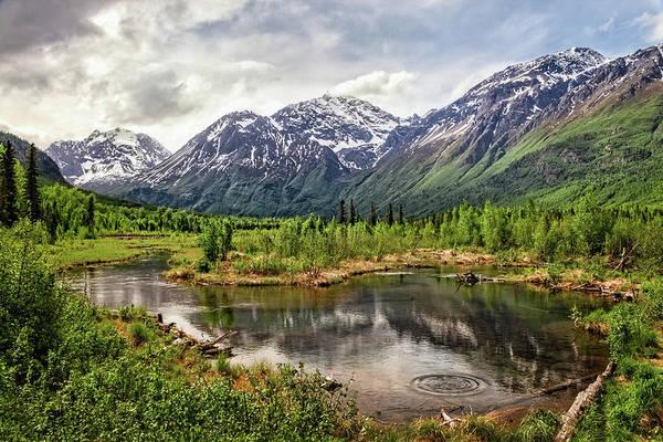 Photograph - Beaver Pond, Eagle River Ak by James Capo