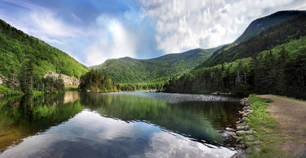Photograph - Beaver Pond In Woodstock New Hampshire by Nancy Griswold