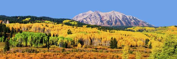 Colorado Photograph - Beckwith Mountain Colors by Photo By Matt Payne Of Durango, Colorado