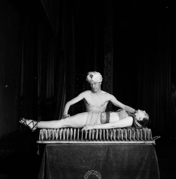 Black Magic Woman Wall Art - Photograph - Bed Of Nails by Peter Purdy