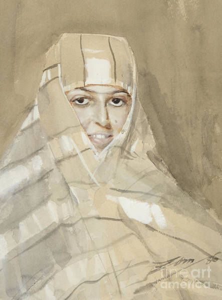 Wall Art - Painting - Bedouin Girl, 1886 by Anders Leonard Zorn