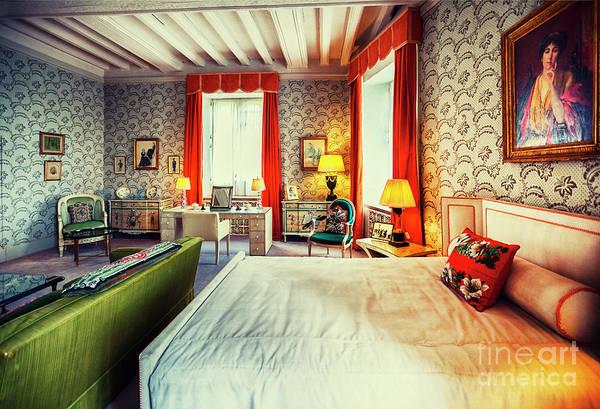 Photograph - bedroom in Leeds Castle, England  by Ariadna De Raadt