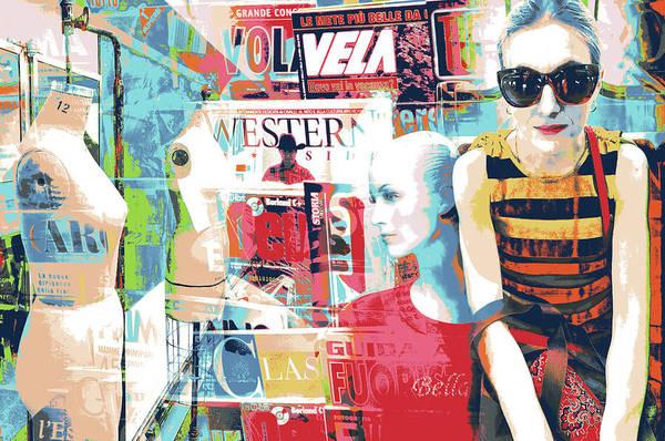 Alitalia Wall Art - Mixed Media - Bee by Shay Culligan