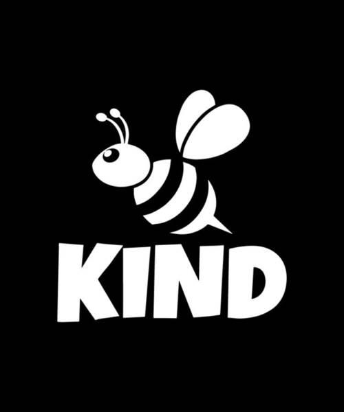 Cajal Wall Art - Digital Art - Bee Shirts Be Kind Teacher Back To School To Beekeeper Teacher Science by Toby McLucas