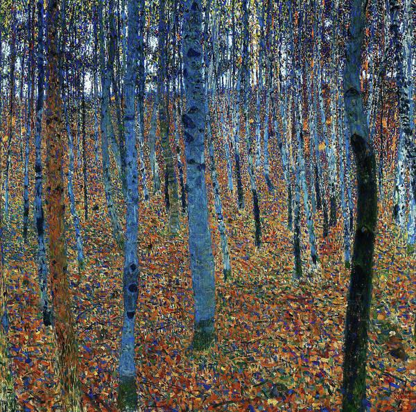 Wall Art - Painting - Beech Grove I - Digital Remastered Edition by Gustav Klimt