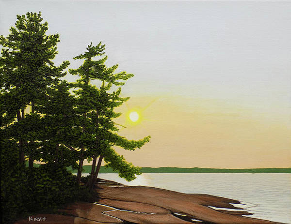 Painting - Beechey Point by Kenneth M Kirsch
