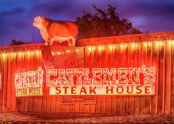 Wall Art - Photograph - Beef - Cattlemen's Stockyards - #1 by Stephen Stookey