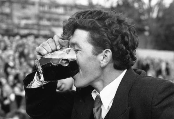 Drinking Glass Photograph - Beer Drinker by Joseph Mckeown